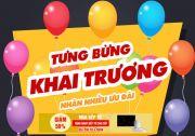 Tưng bừng Khai trương - Nhận nhiều Khuyến Mại, Ưu đãi Lớn tại Bếp Đức Việt